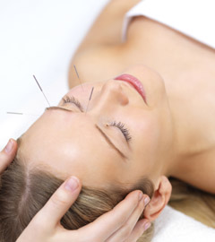 Acutron acupuncture facial rejuvenation